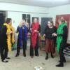 Offene Ateliers 15.11.2015: Auftritt des 1. 5-köpfigen Barber-Shop-Quartetts THE SPICY FIVE